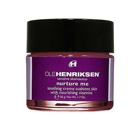"Lately I've been using Ole Henrikson ""Nurture Me"" Cream. To me, it smells like bubble gum. My boyfriend said my face smelled like brownies one time. Hey, I'm not complaining."