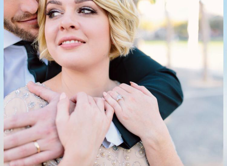 Makeup I did on Molly for her San Francisco City Hall Wedding