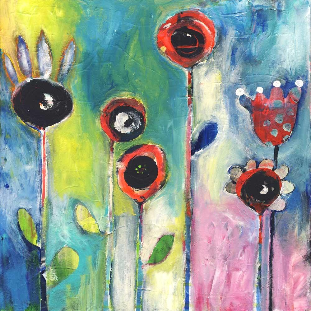 Spirit Flowers - SOLD
