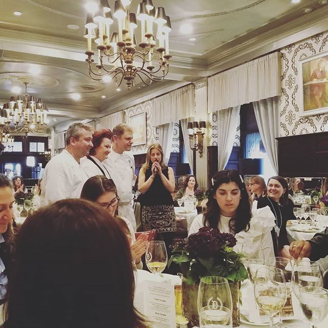 Delmonico's celebrates 151 years since a group of women first had lunch at their restaurant unchamperoned by a man. Thrilled to have been invited as a VIP guestto today's luncheon. #Rebel #womensempowerment #powerlunch