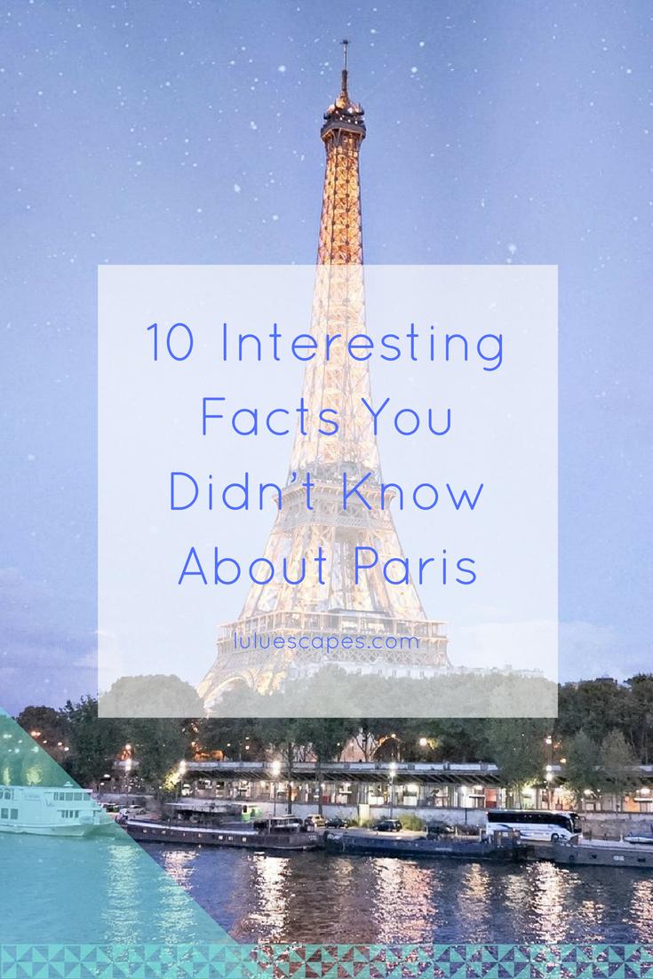 Paris-Interesting-Facts