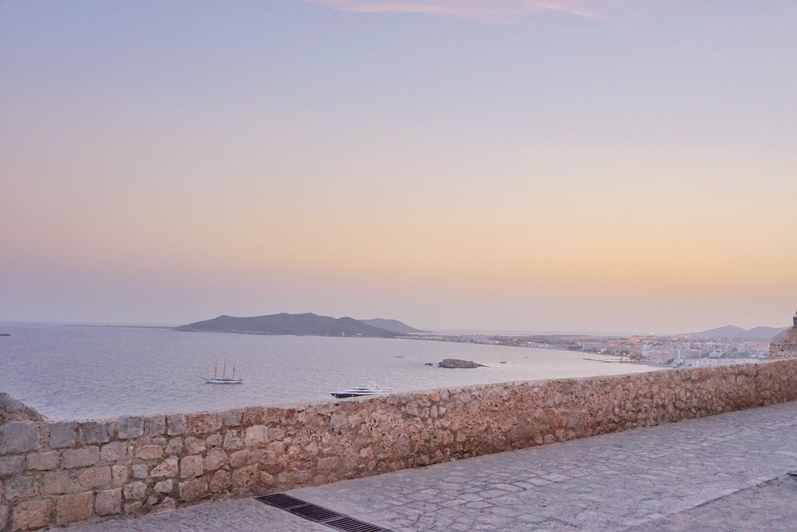 Ibiza-Dalt-Vila-Sunset