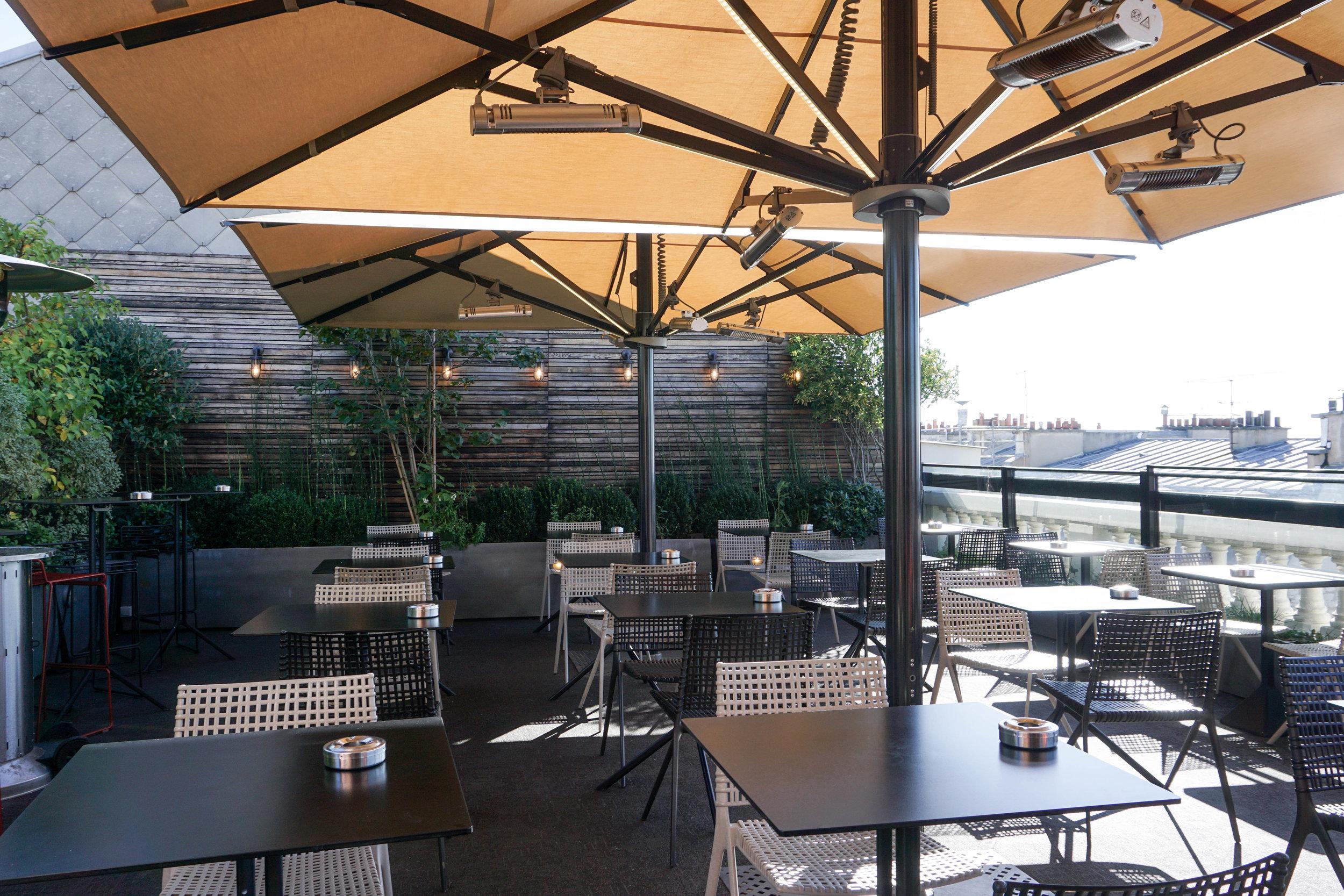 Paris-Terrass Hotel-rooftop