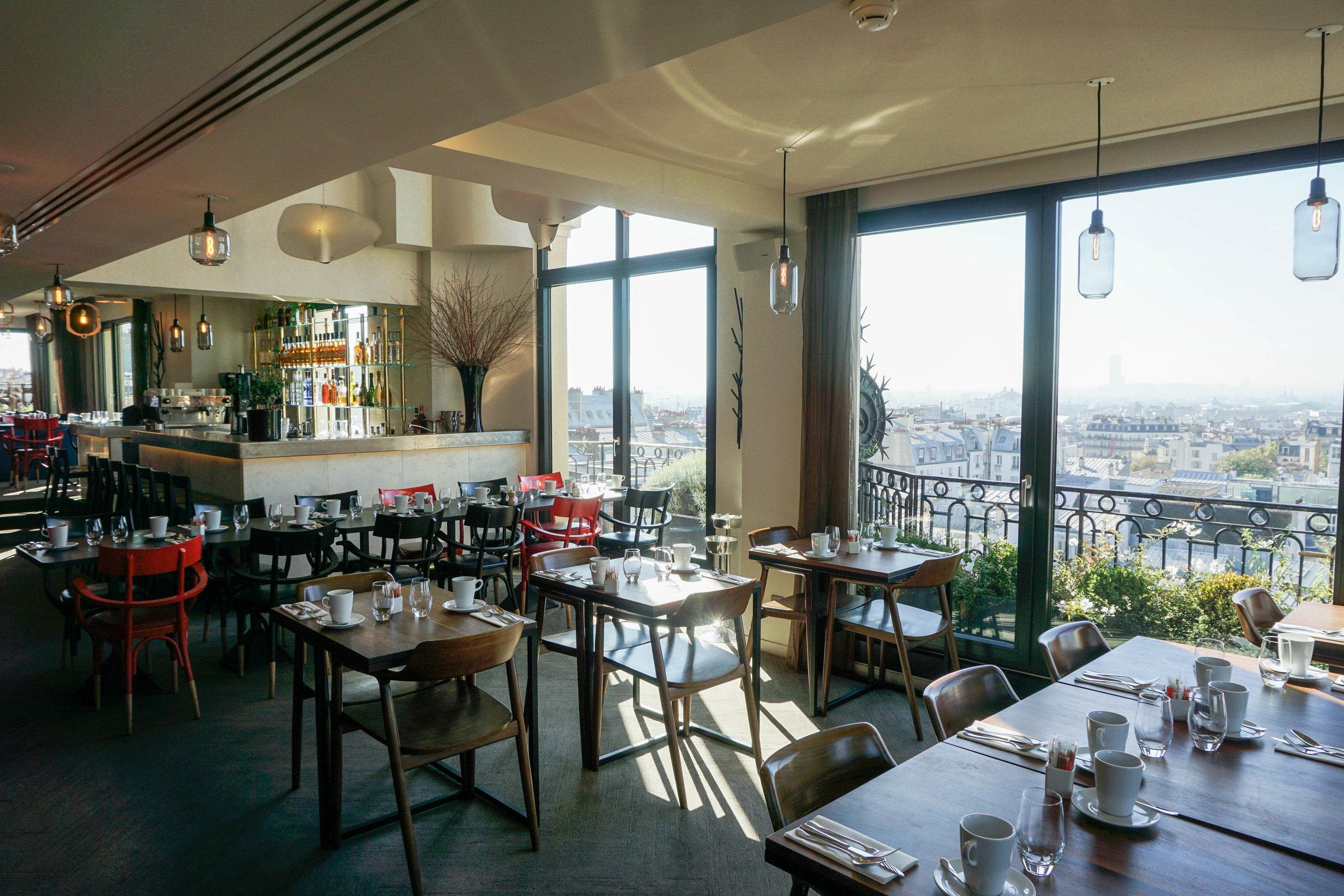 Paris-Terrass Hotel-restaurant