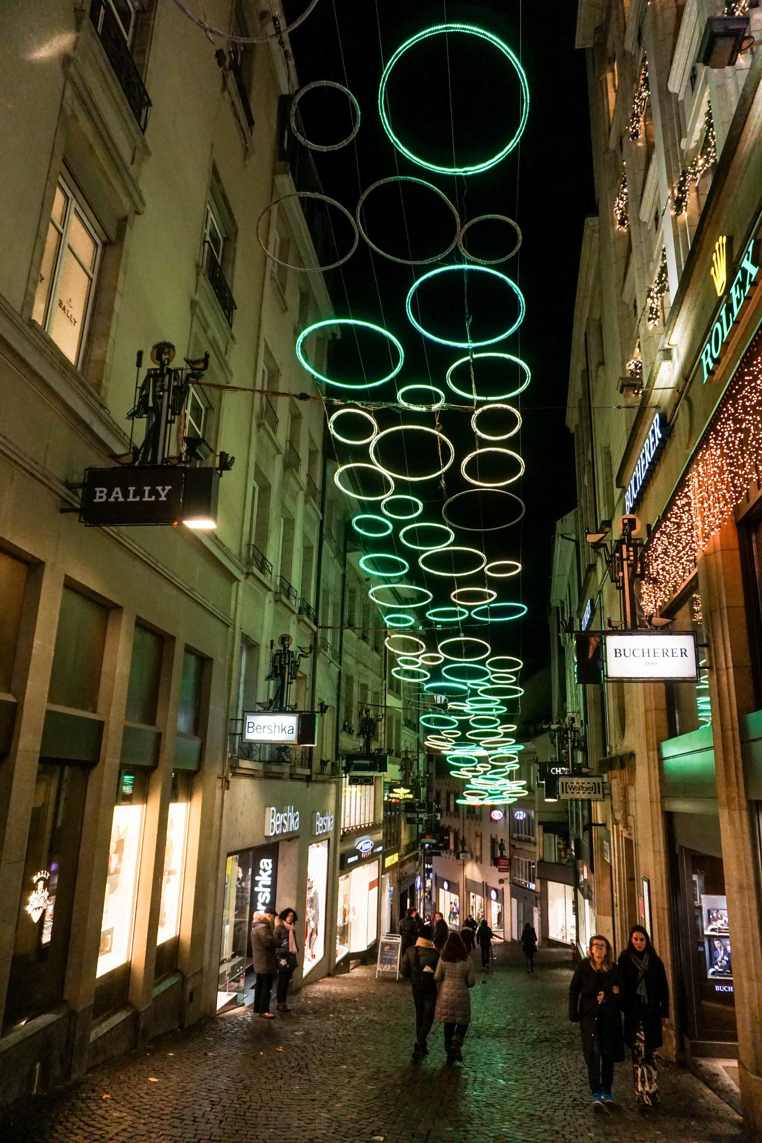 Lausanne-Christmas Lights