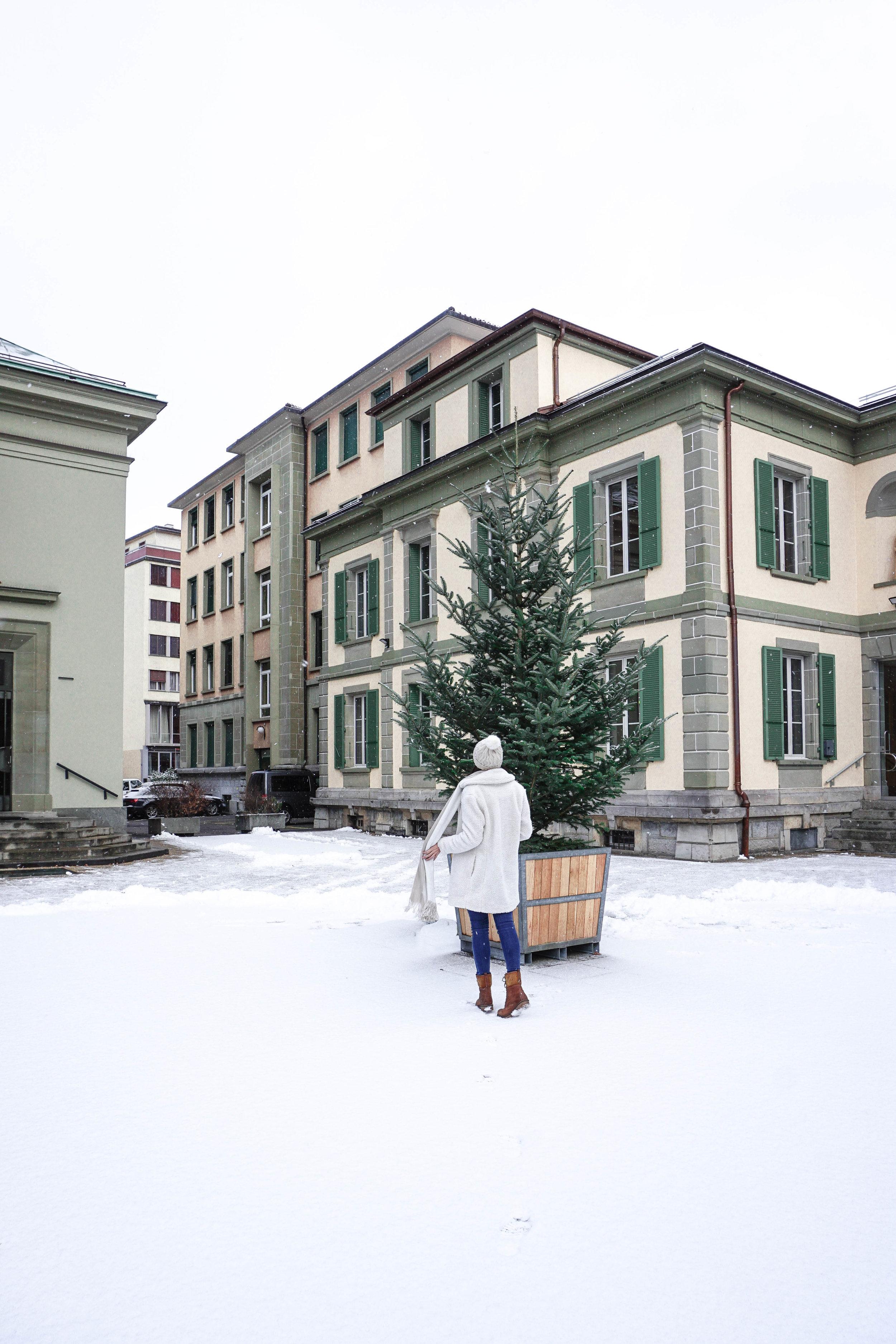 Lausanne-Snow