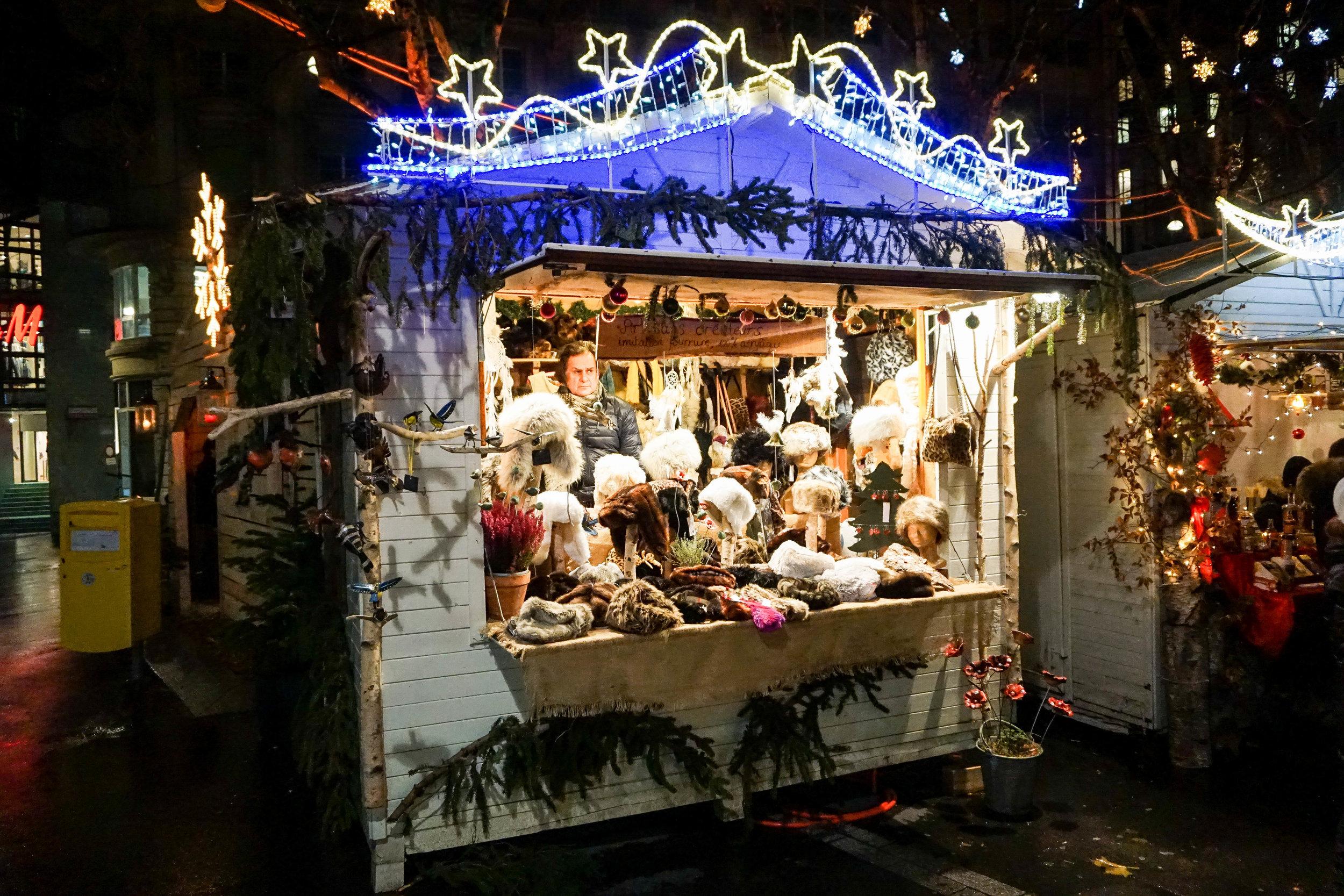 Lausanne-Christmas market