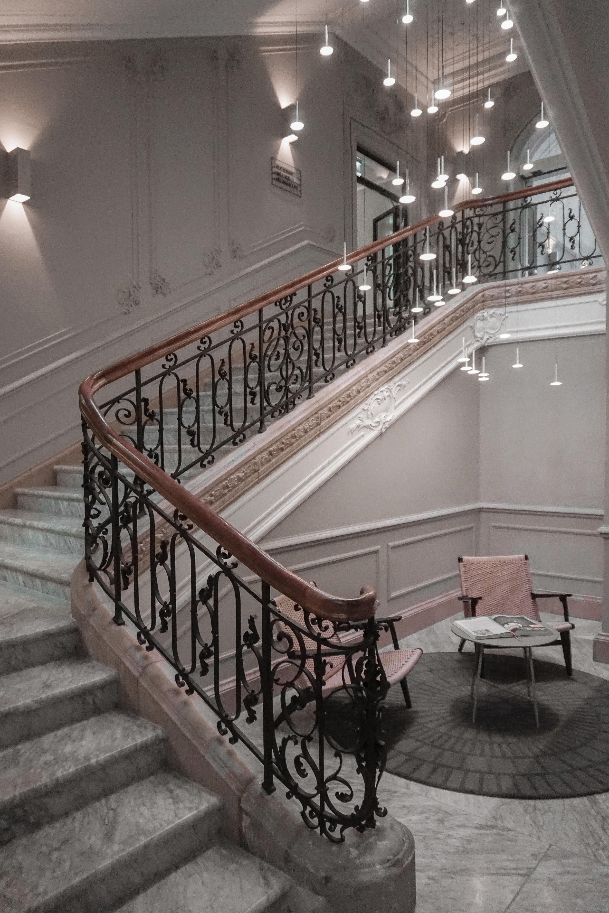 Copenhagen-Nobis Hotel-Staircase