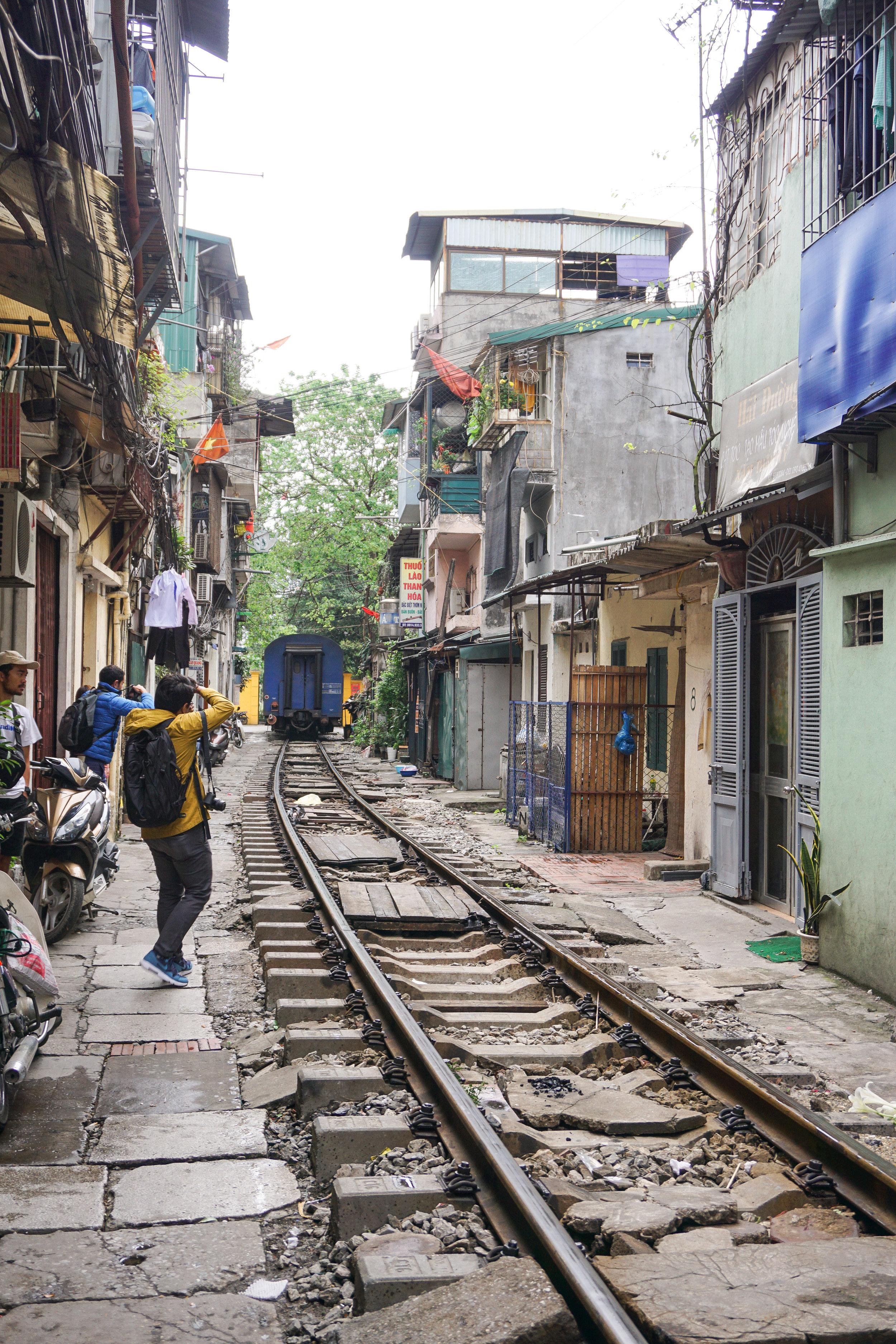 Vietnam - Hanoi - Train Street