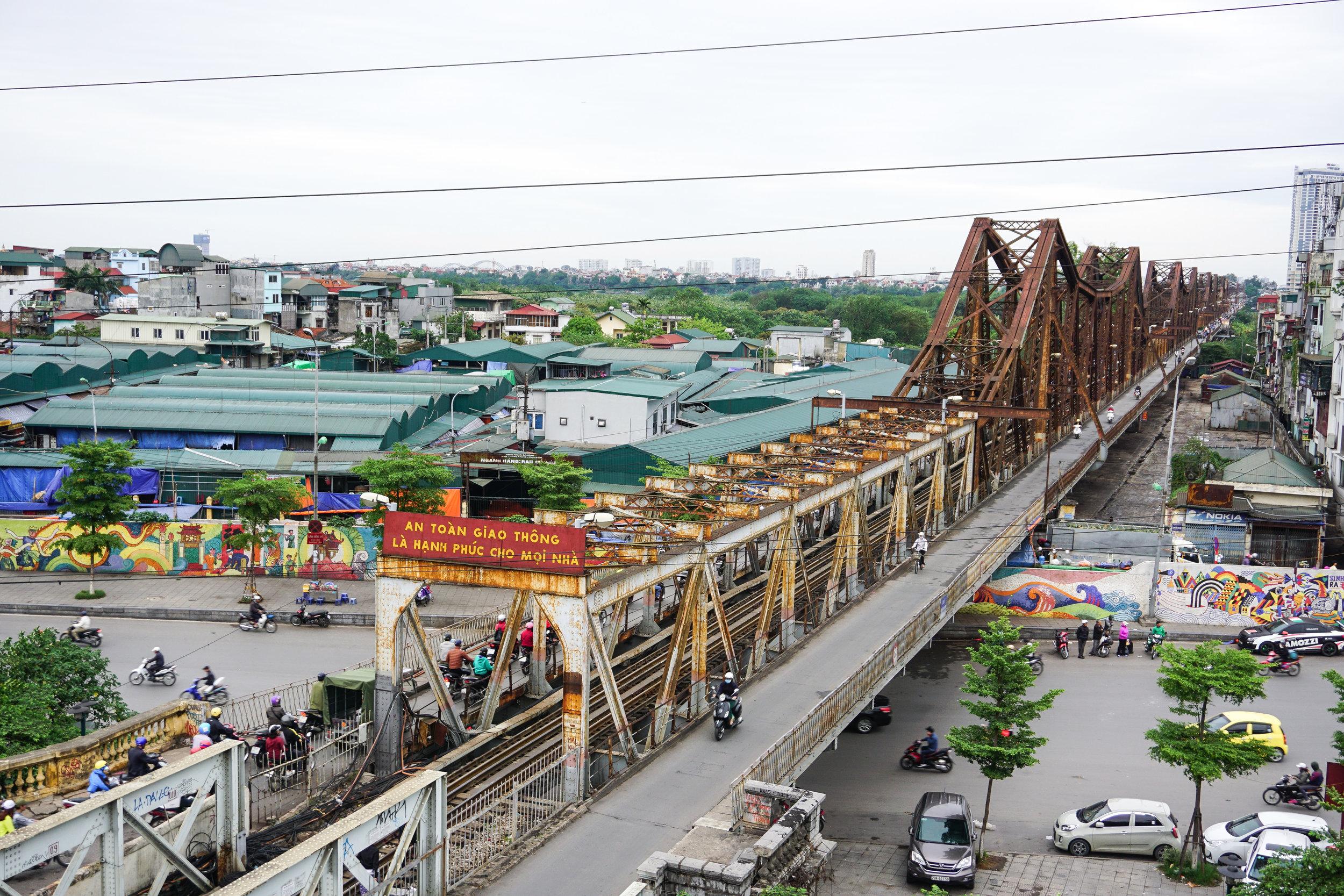 Vietnam - Hanoi-Long Being Bridge