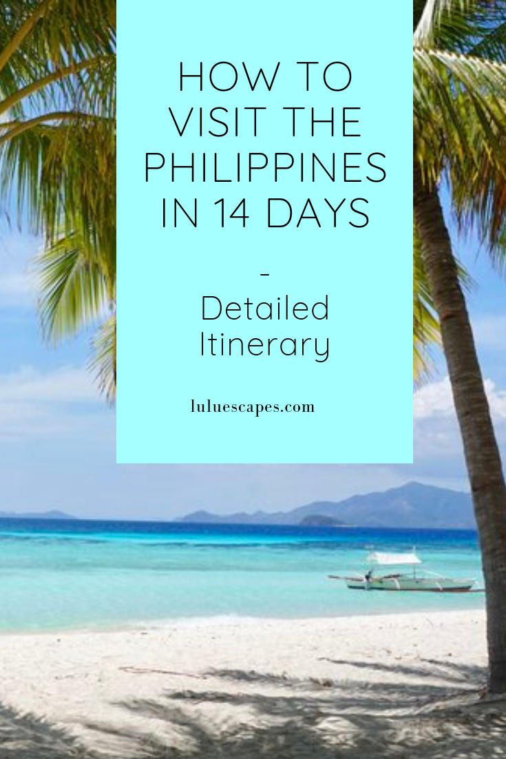 Philippines-Itinerary