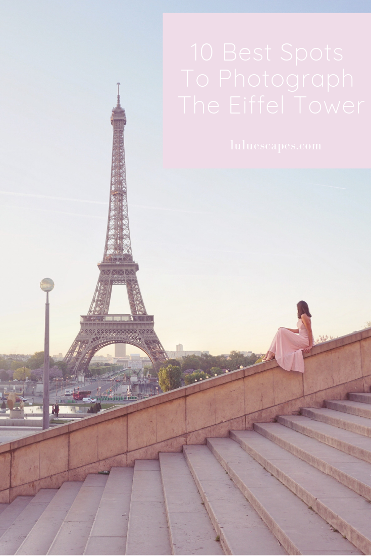 Lulu Escapes - Paris Eiffel Tower