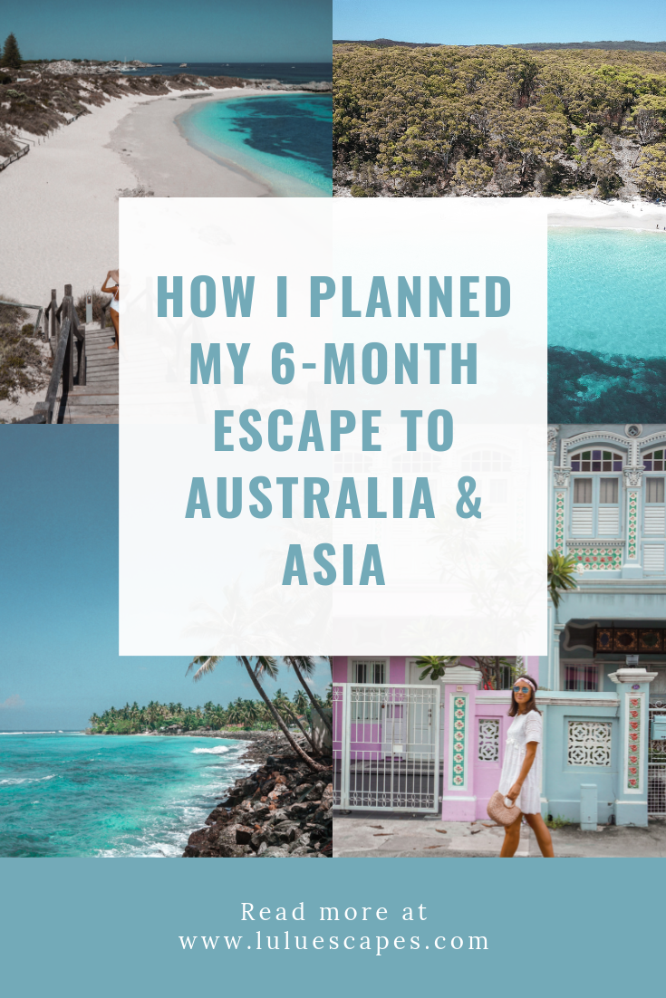 Lulu Escapes - trip plan - Australia & Asia
