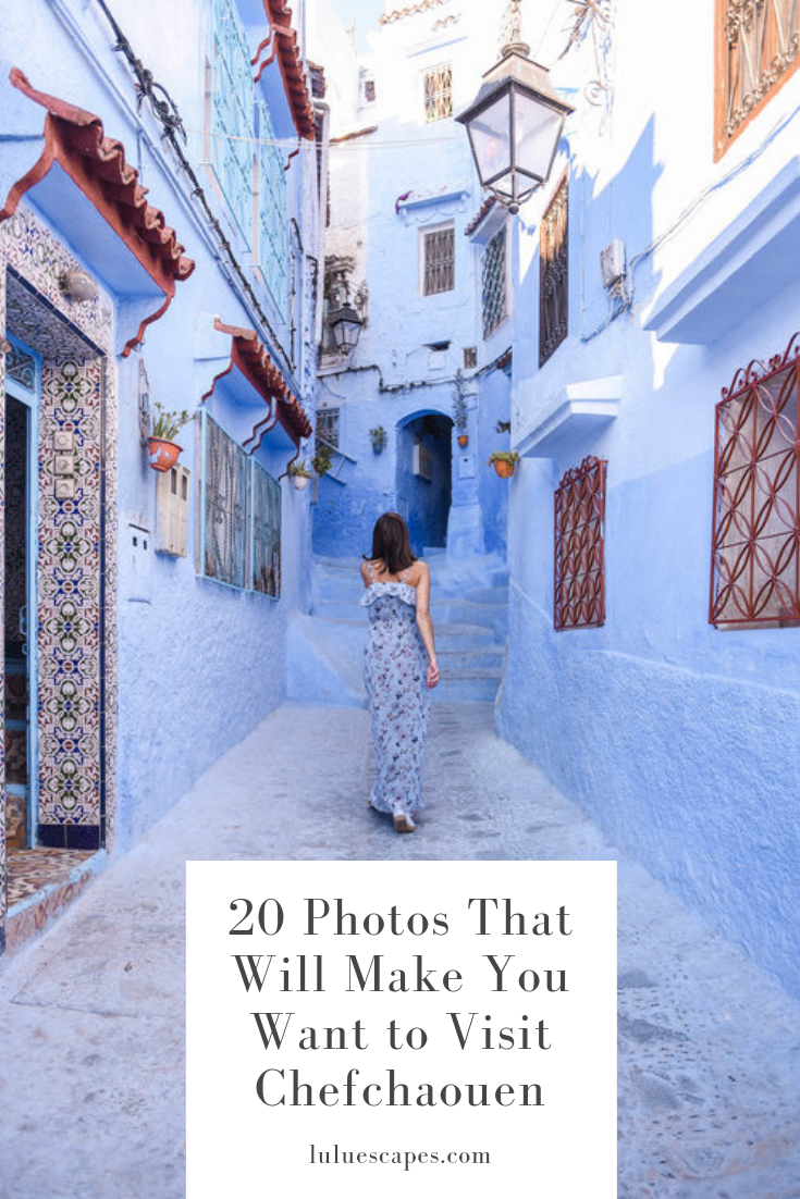 Lulu Escapes - Chefchaouen Morocco