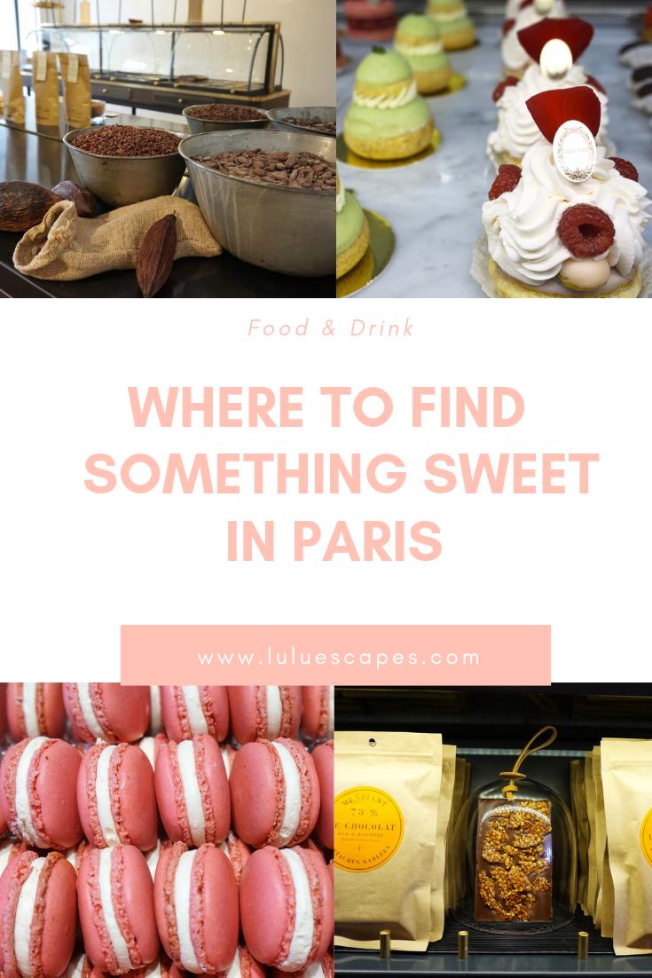 Paris sweet things