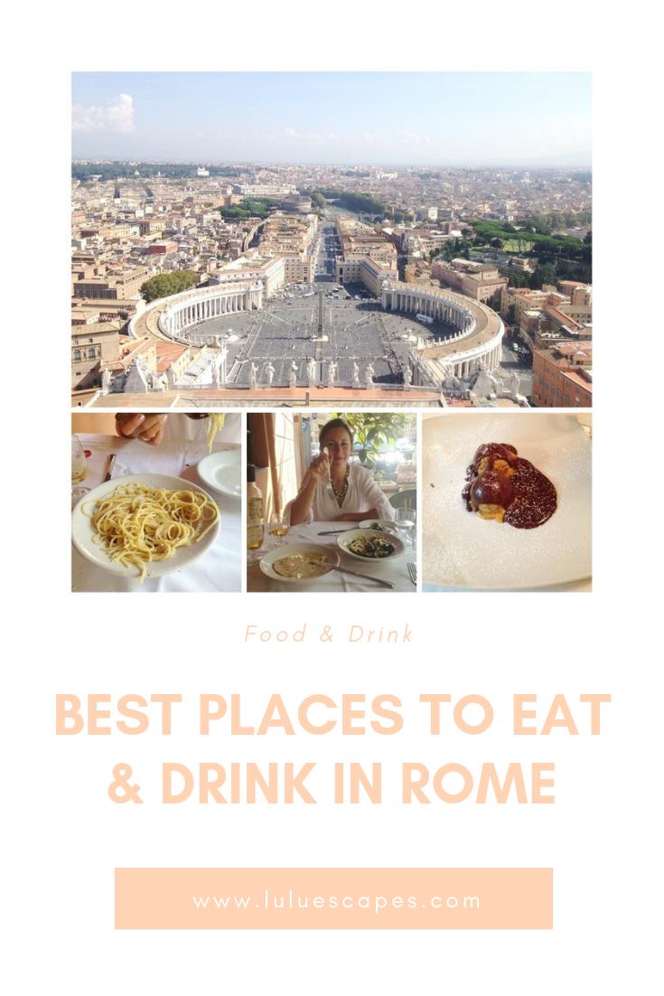 Rome Bars & restaurants