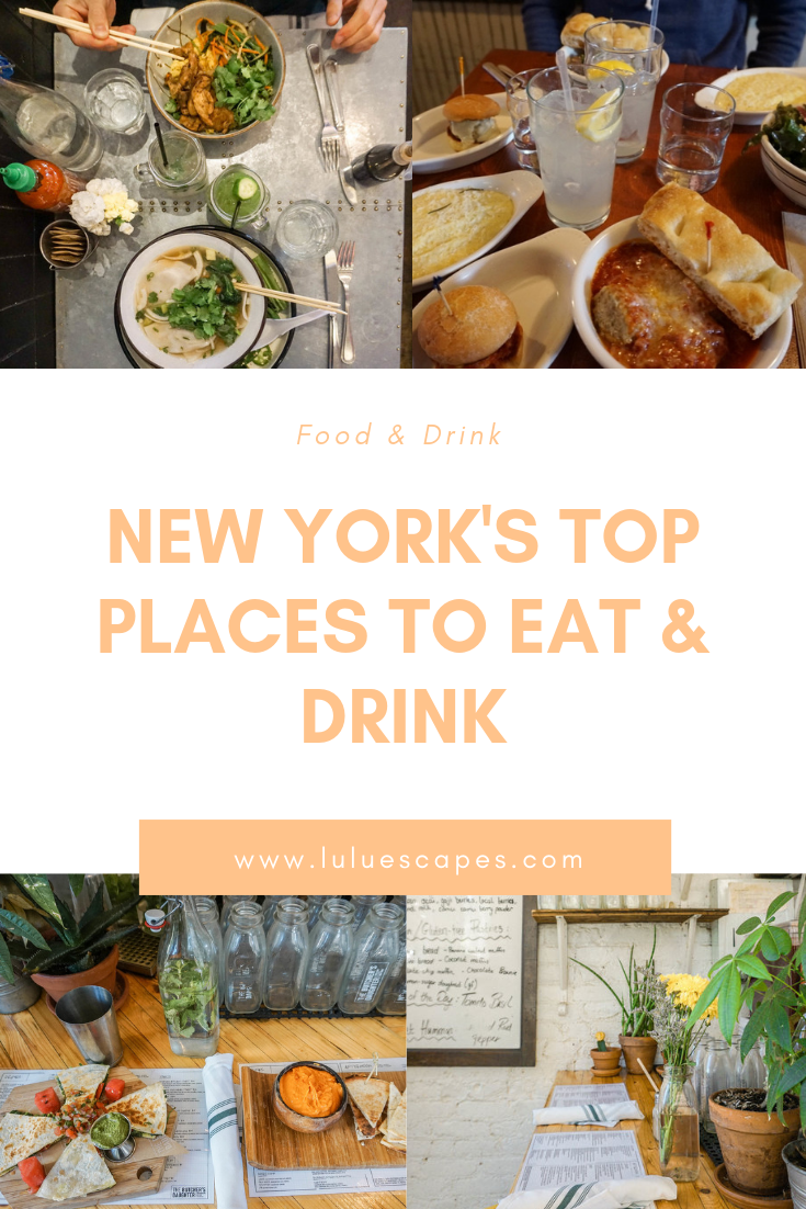 New York restaurants & bars