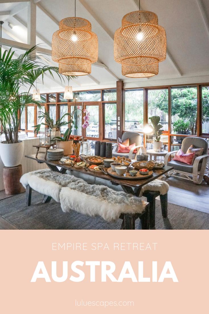 Empire Spa retreat Australia