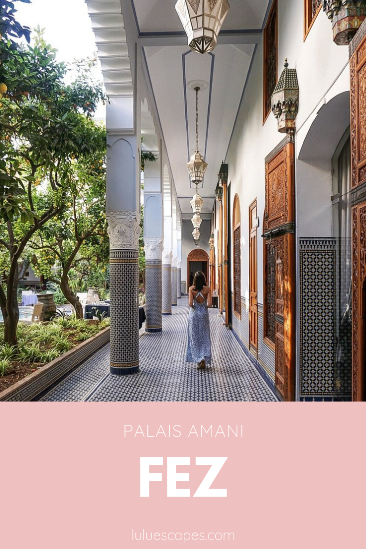 Palais Amani hotel - Fez