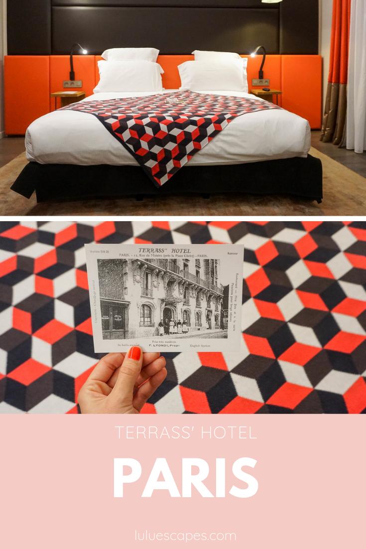 Terrass hotel Paris