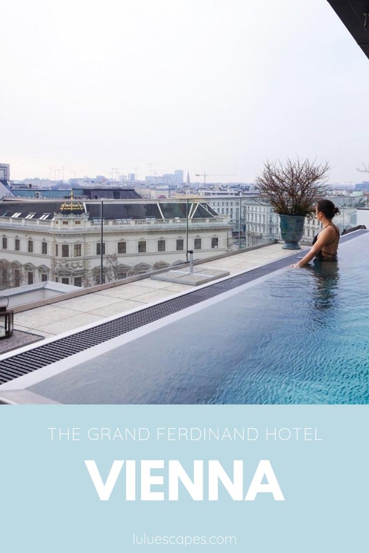 Grand Ferdinand hotel Vienna