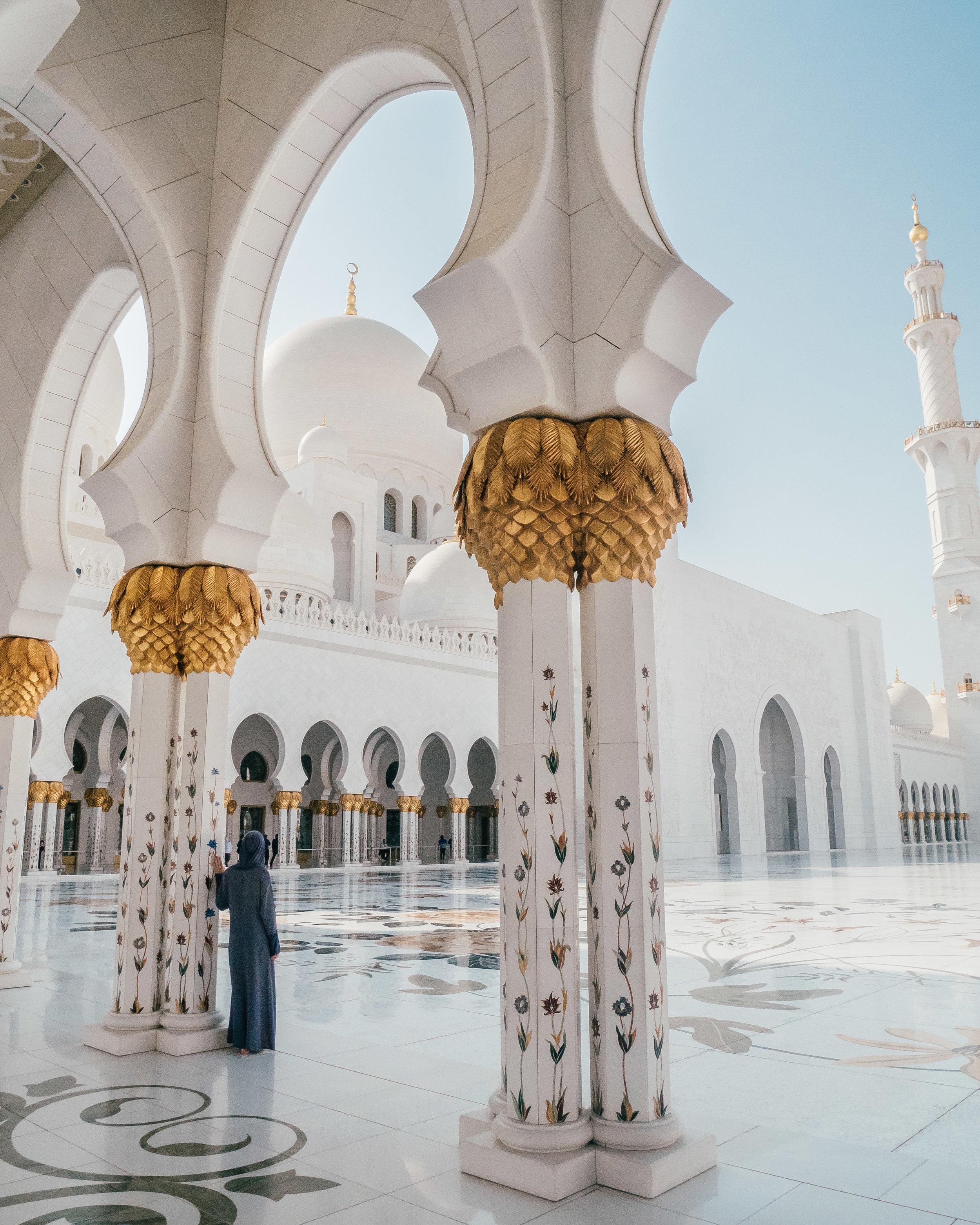 Travel Blogger Ophélie Moris - La Bengale - Abu Dhabi