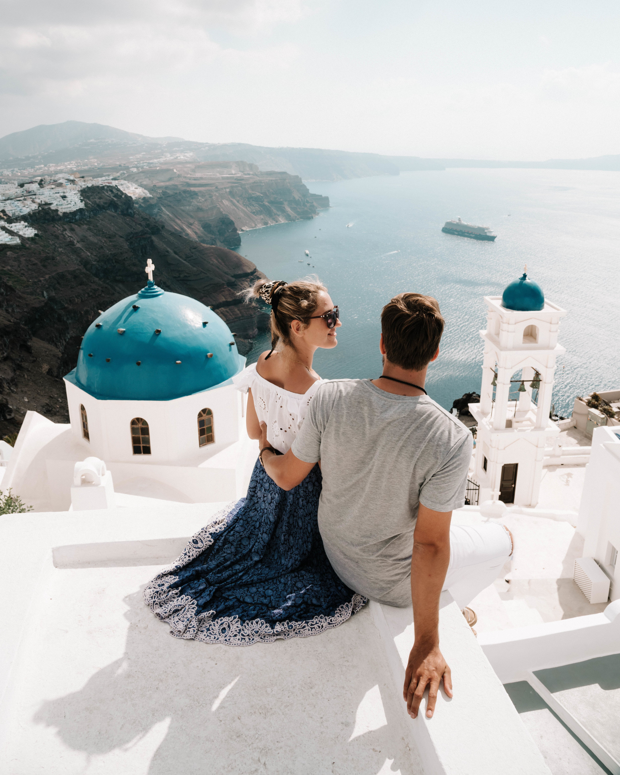 Your Passport - Travel Blogger in Santorini