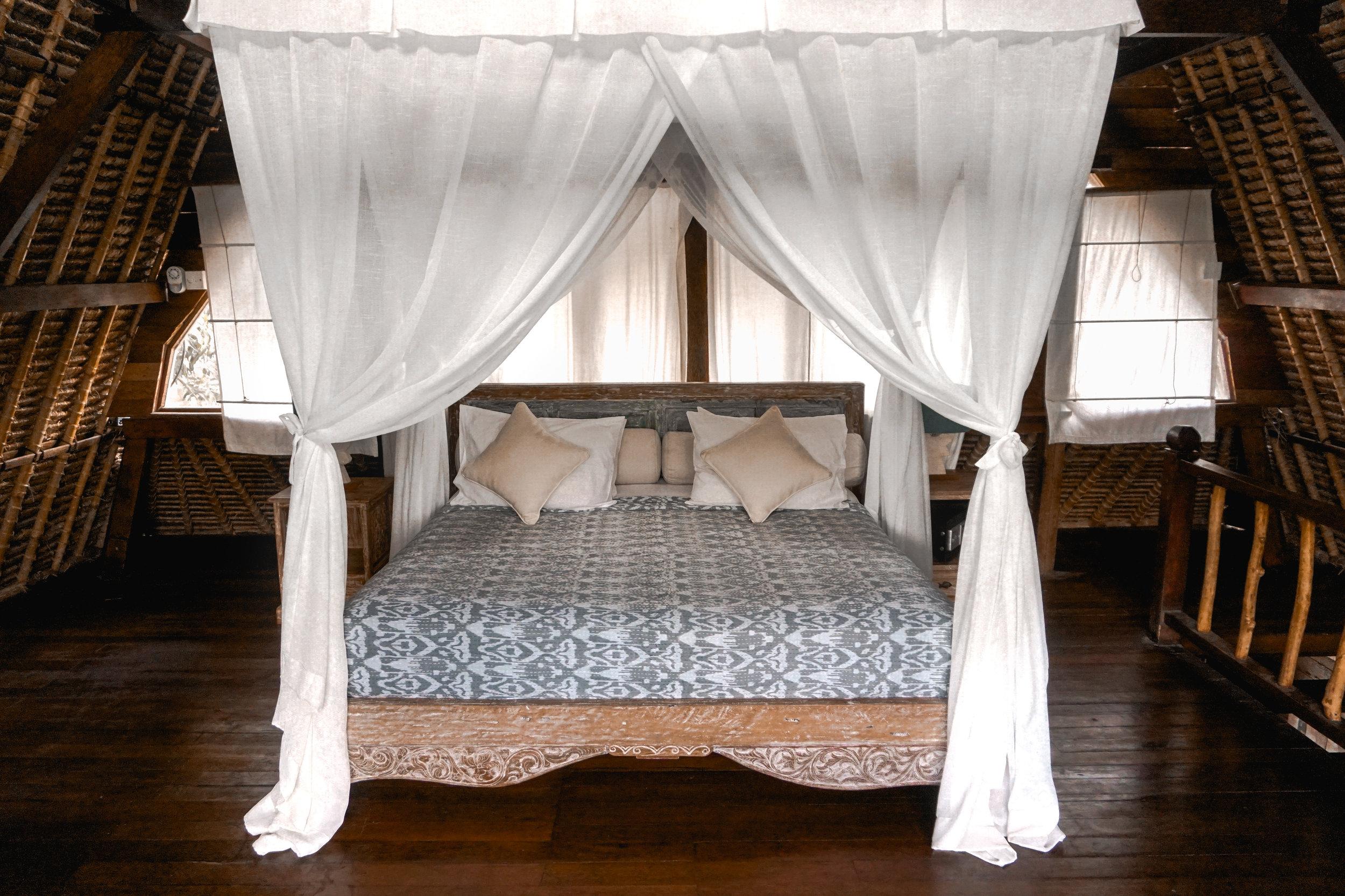 Bali - Balinese wooden hut