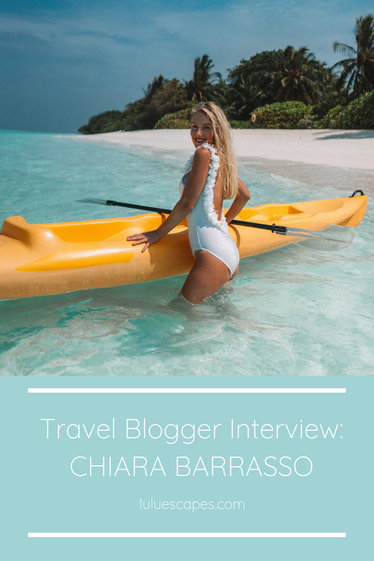 Travel Blogger Interview Pin