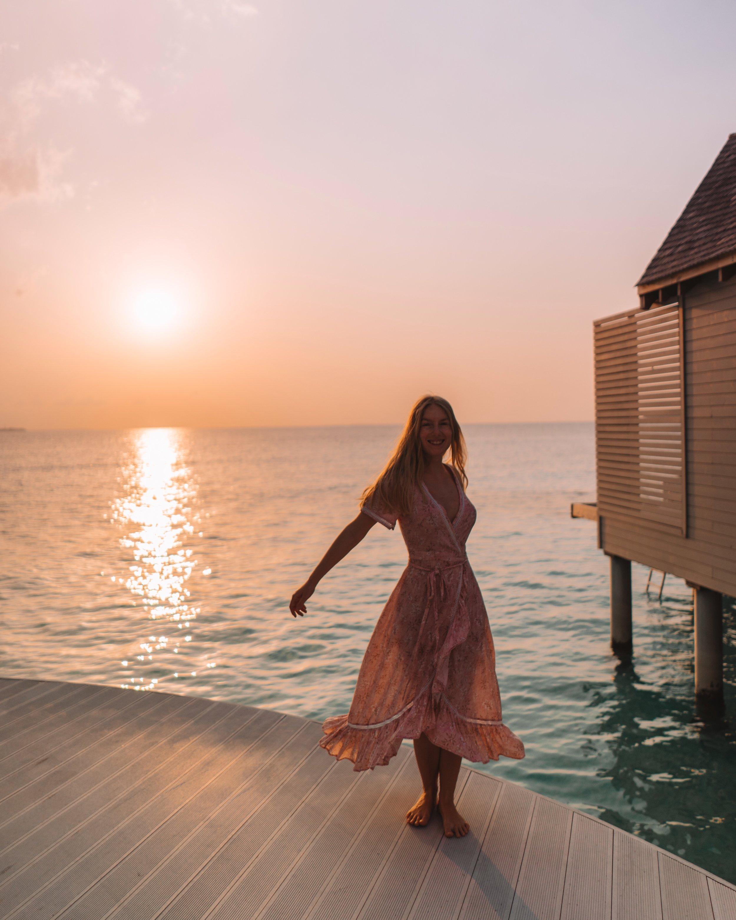 Chiara Barrasso - Travel Blogger in the Maldives