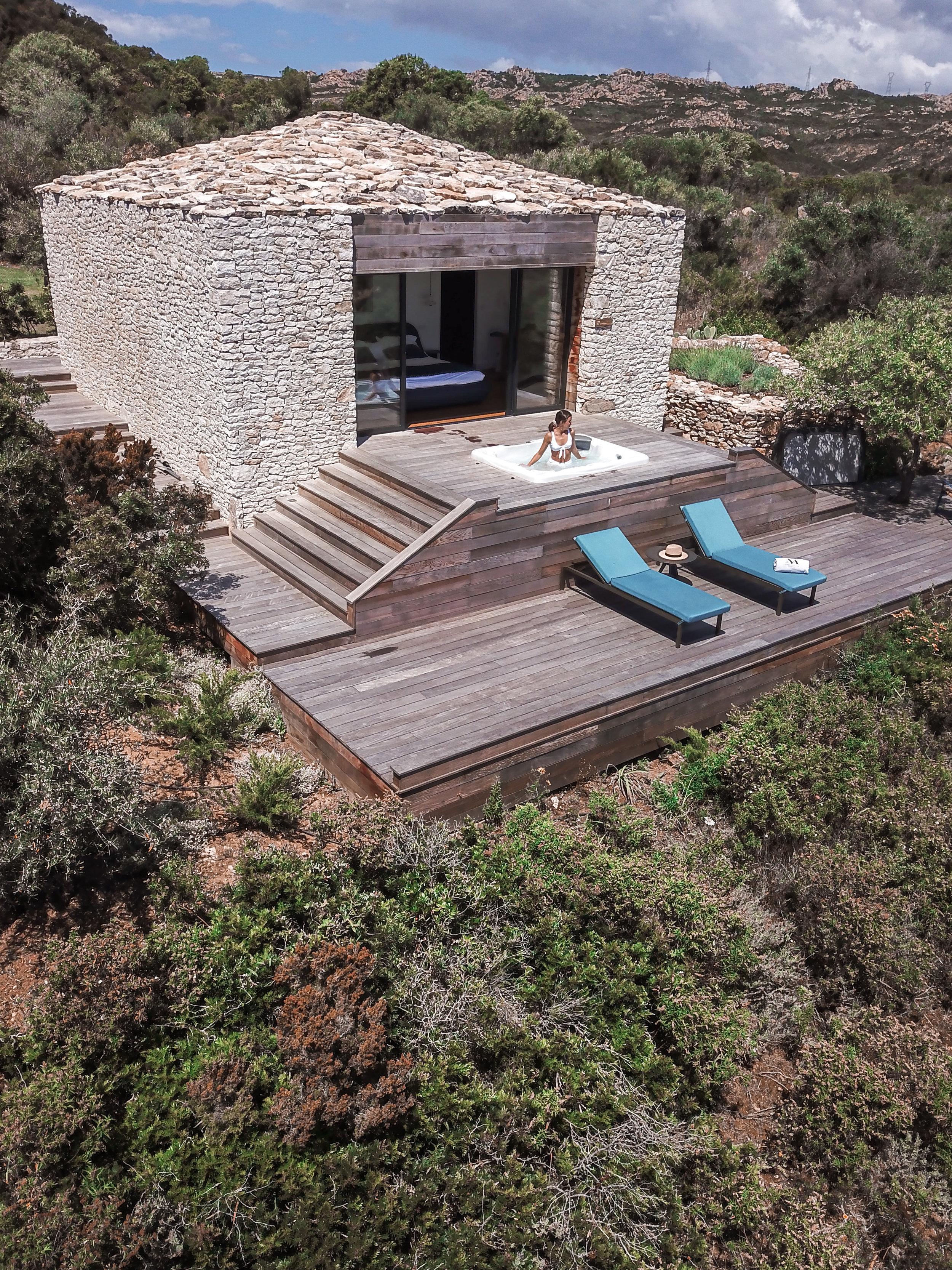 Hôtel Version Maquis Santa Manza - Bonifacio Corsica