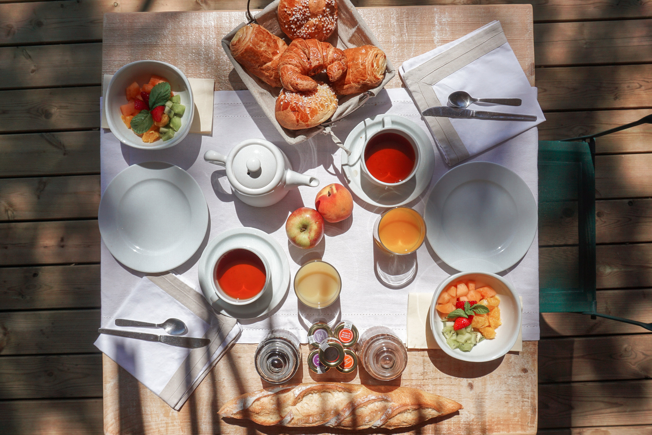 Les Oliviers de Palombaggia - Breakfast