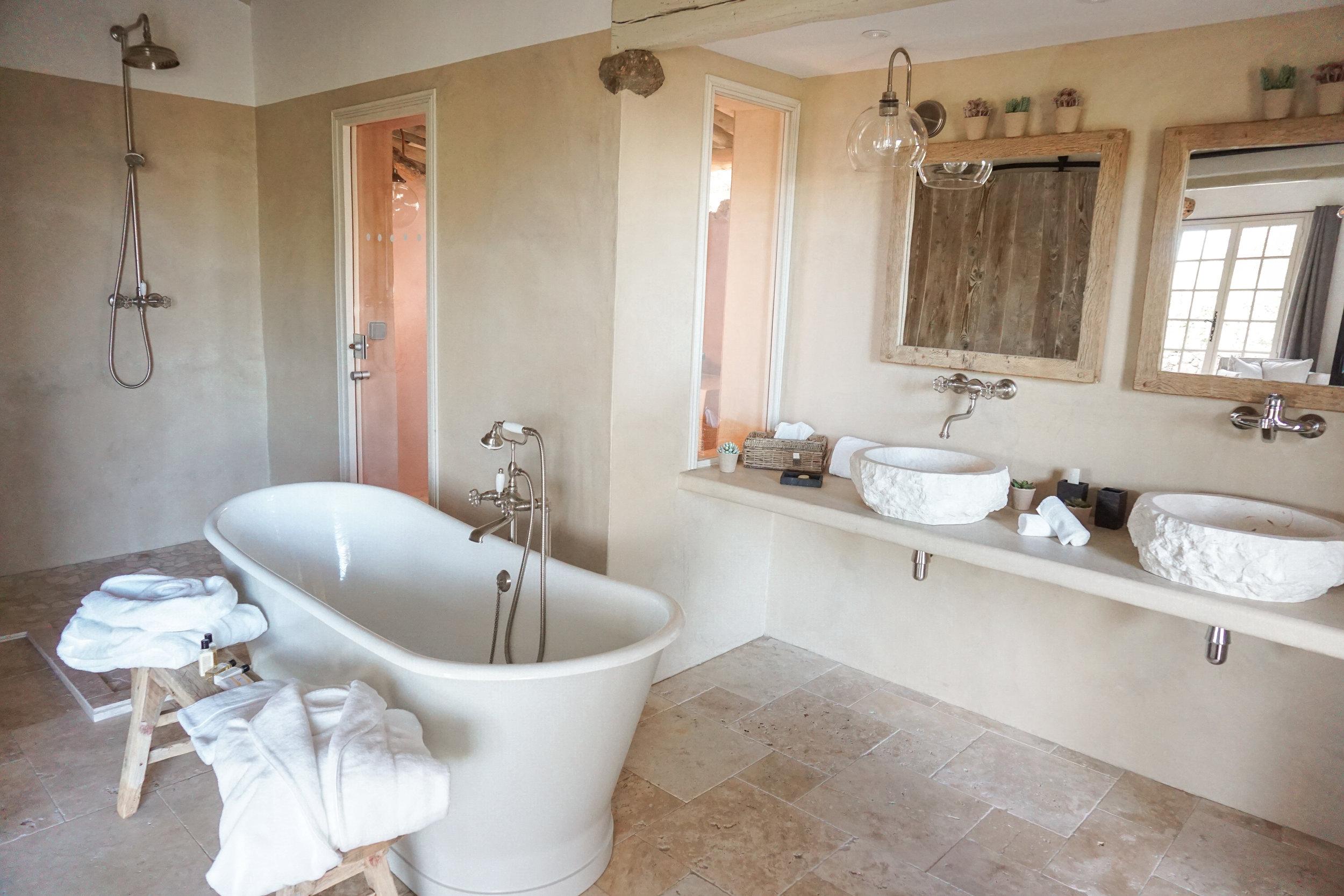 Les Oliviers de Palombaggia - Bathroom