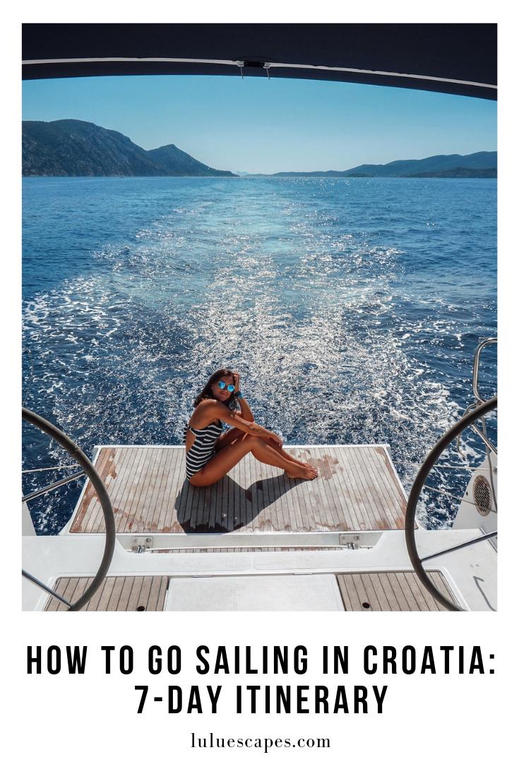 Sailweek Croatia - Sailing Boat