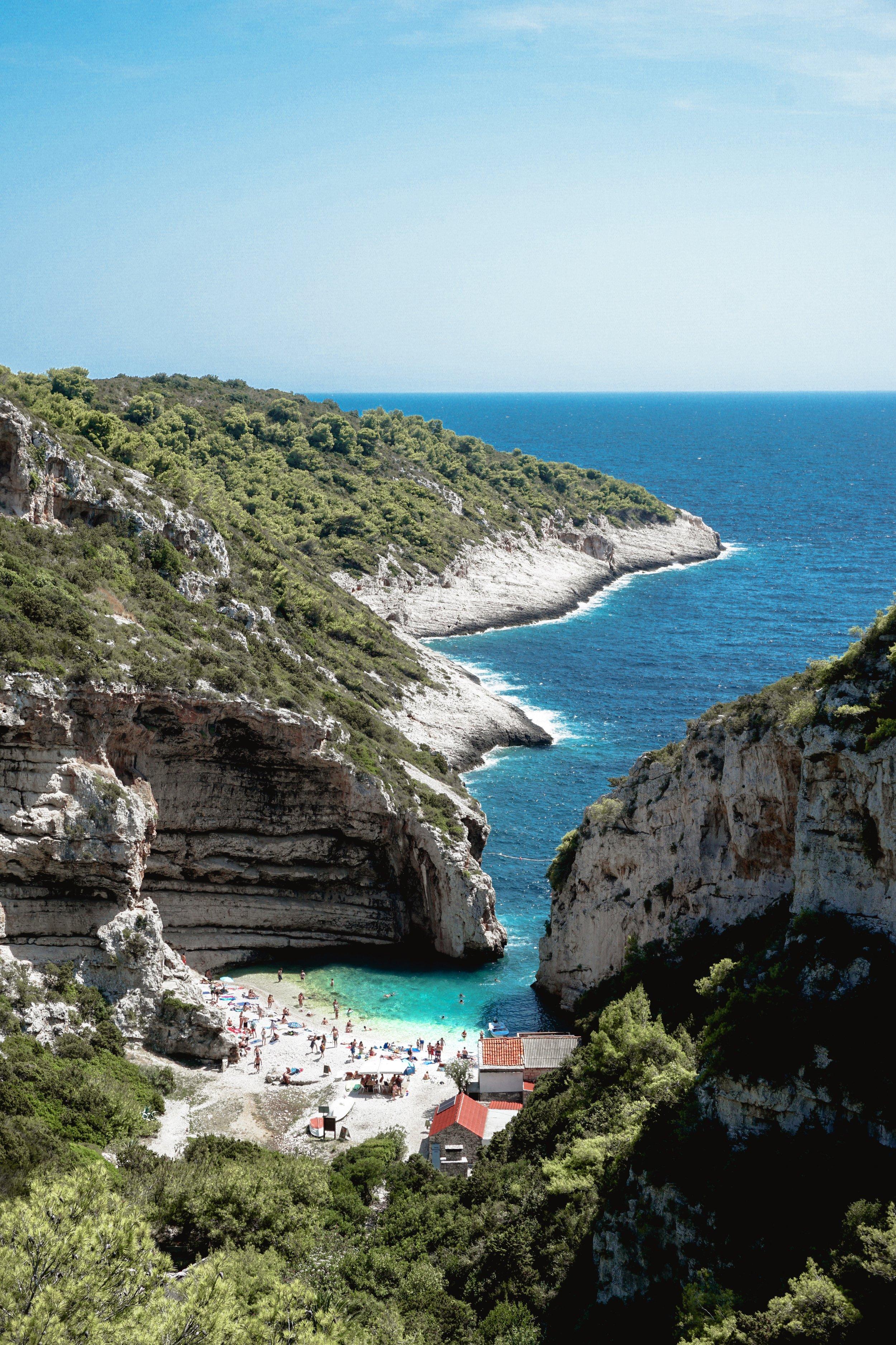 Sailweek Croatia - Vis Island - Stiniva Cove