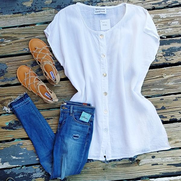honest cotton vest