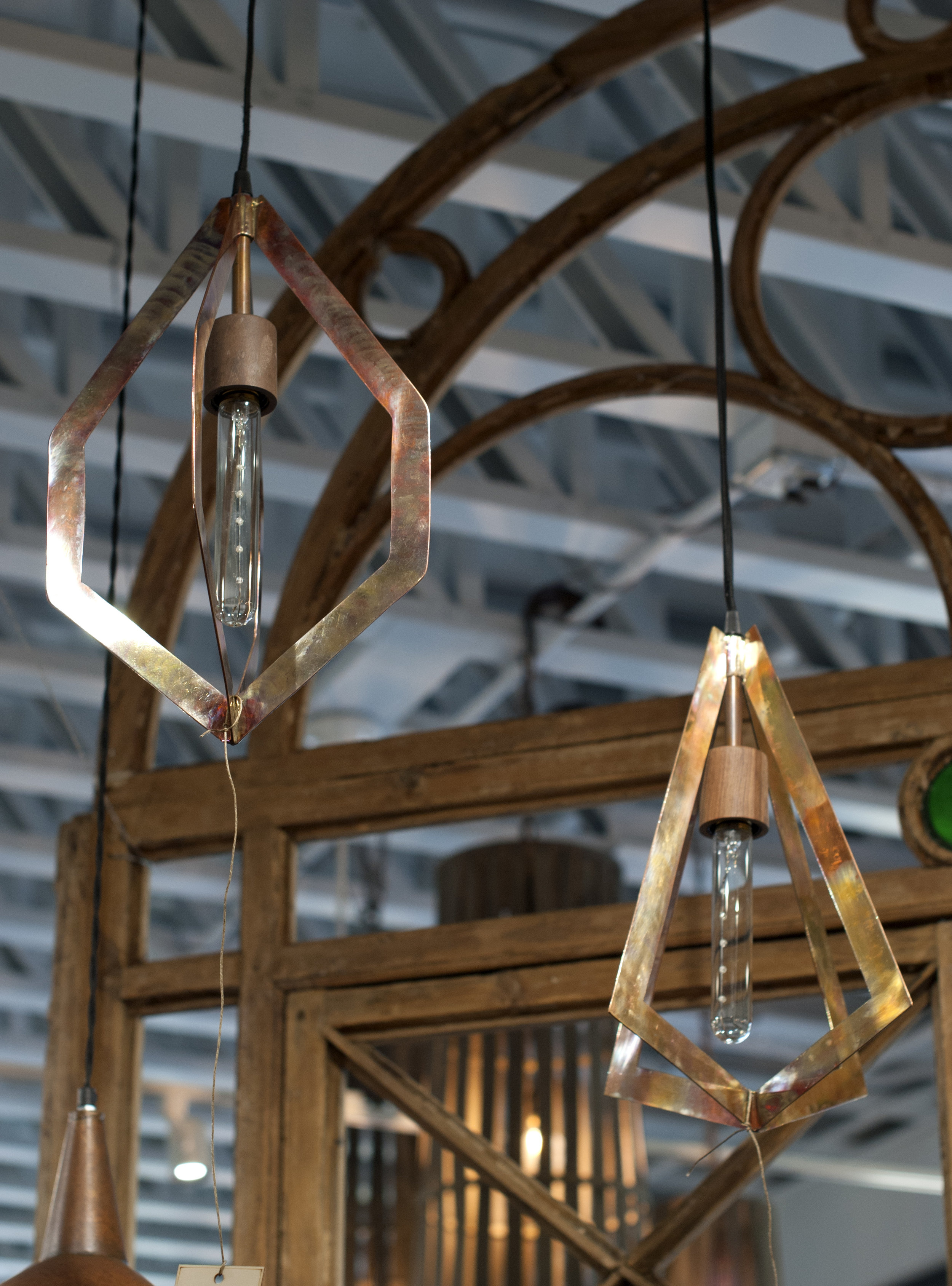 copper pendant lighting