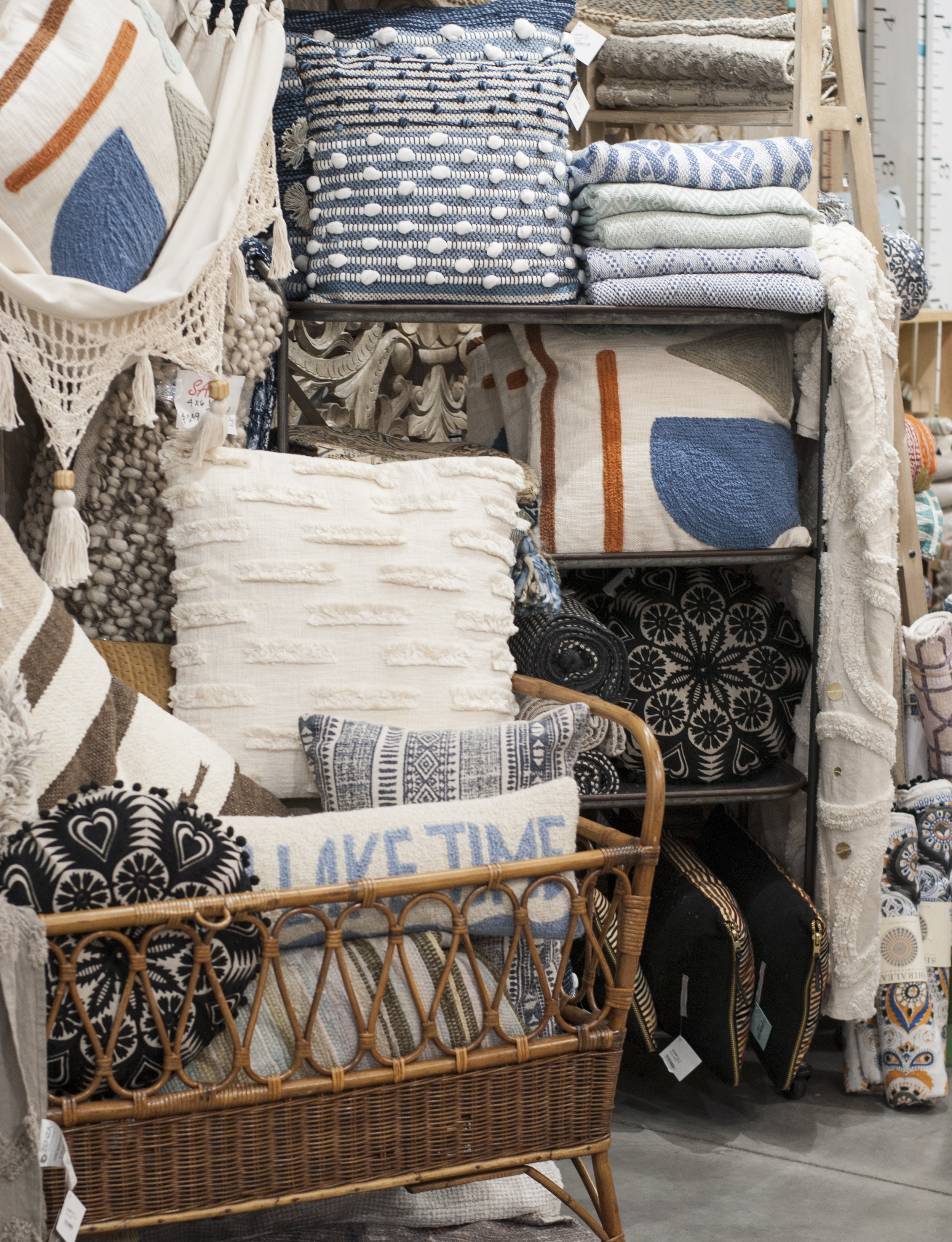 Globally Sourced Cushions + Blankets