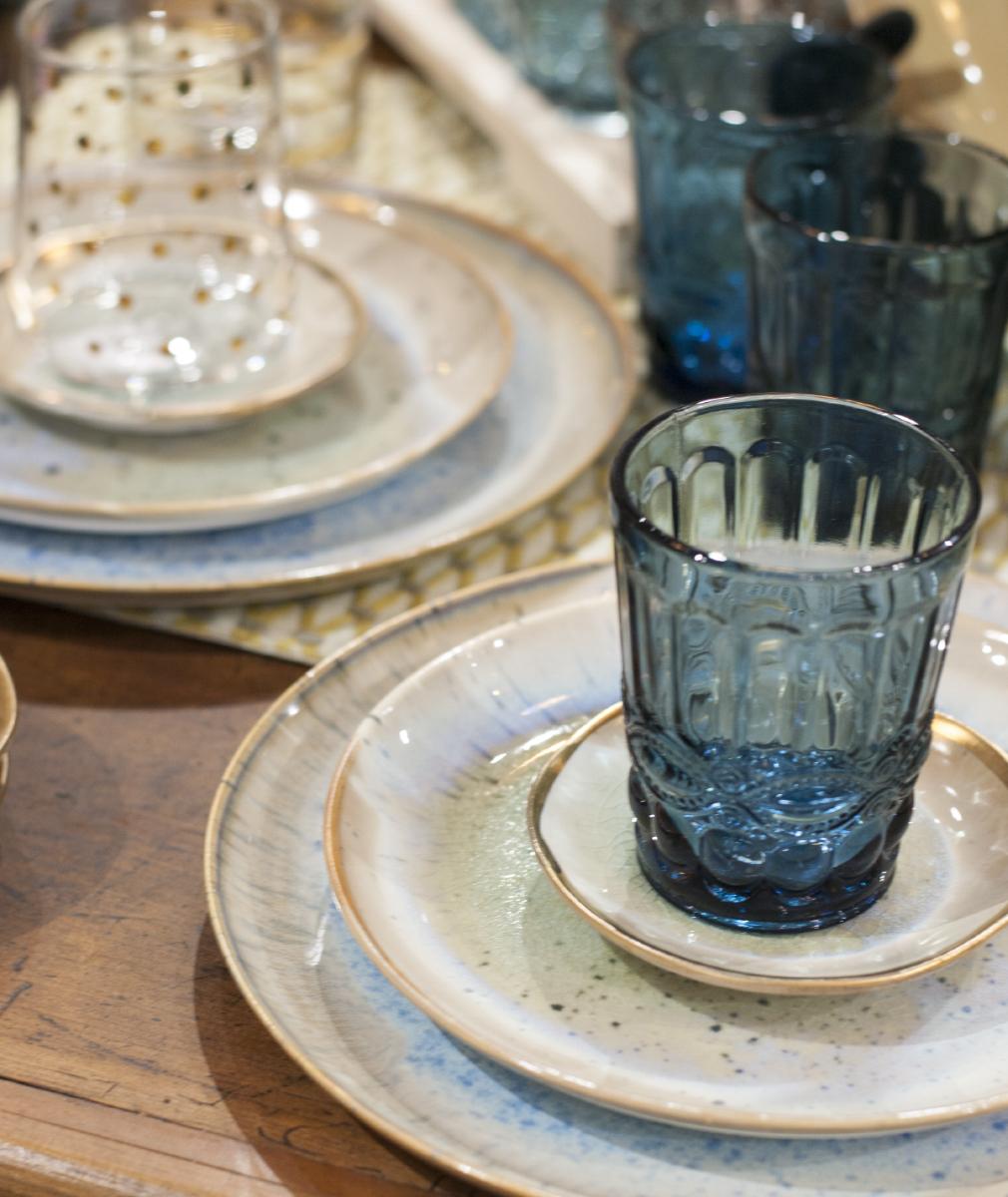 Plateware + Glassware
