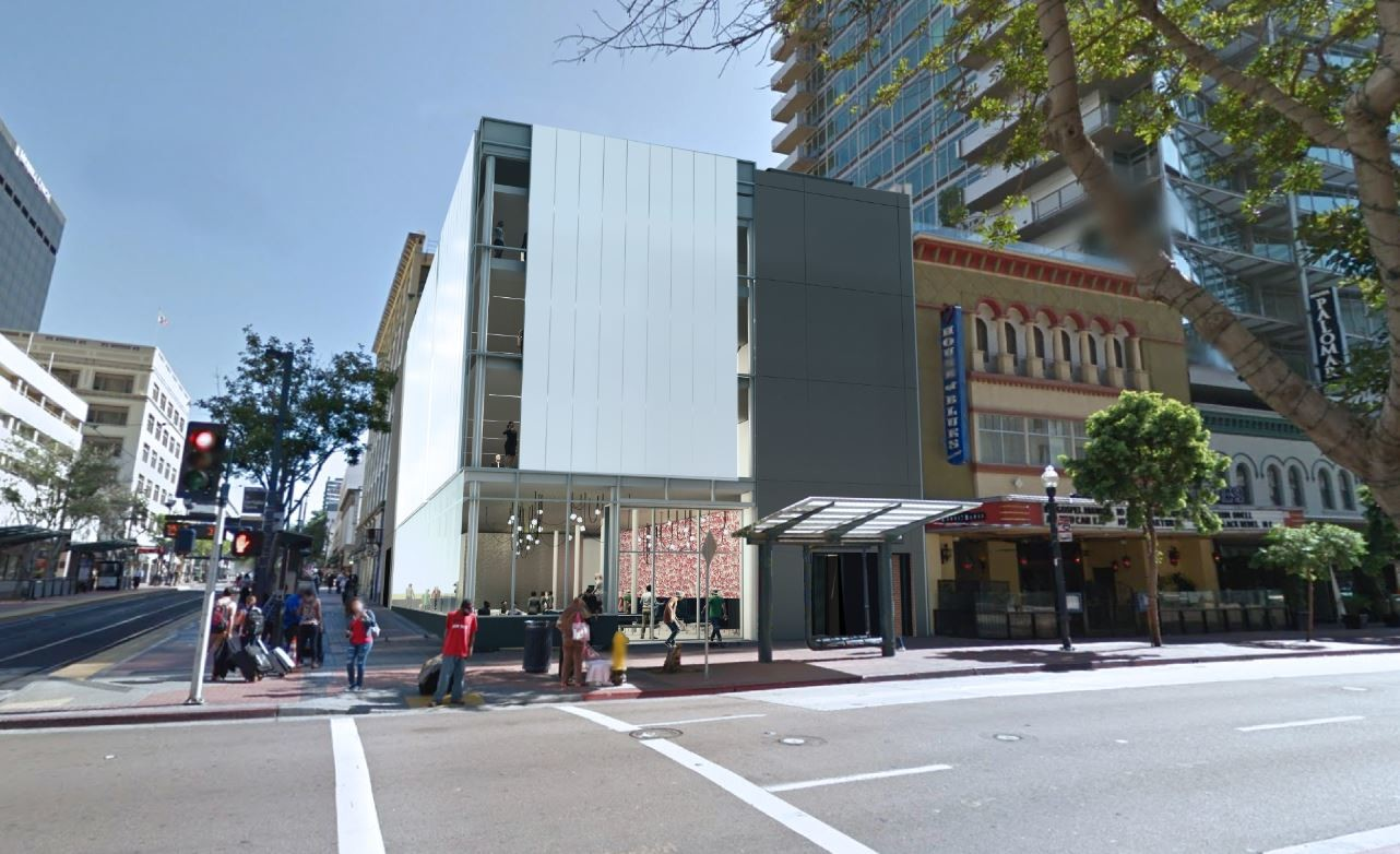 1065 Fifth Ave - Purchase & redevelopment of a 22,000 SF downtown San Diego commercial building into chic creative retail+office space.
