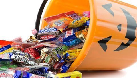 Here is a tip for a Healthier Halloween: Buy Halloween candy October 30th. And not a day earlier. The less time the candy is in the house, the fewer days you have to exercise self-control. #haveahealthyhalloween