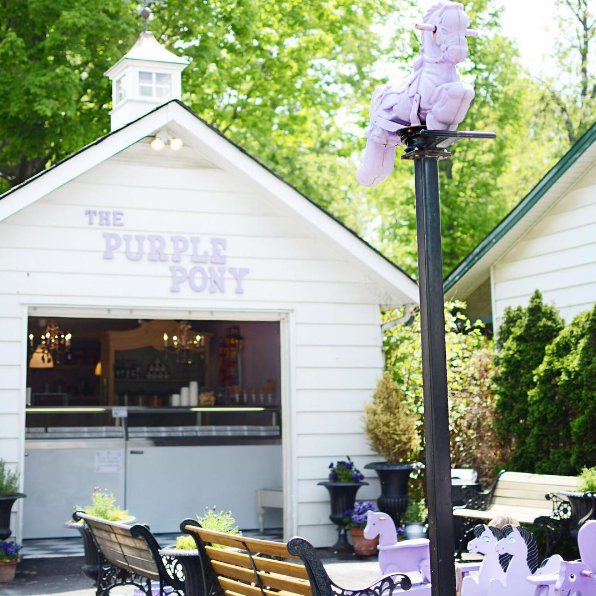 Ice Cream Shop Ancaster Ontario, The Purple Pony
