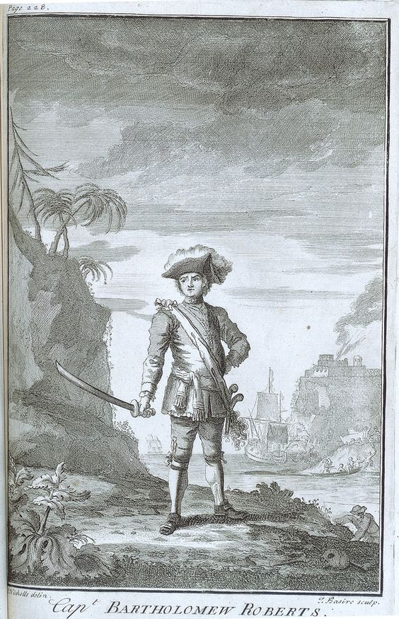 An early print of Bartholomew Roberts