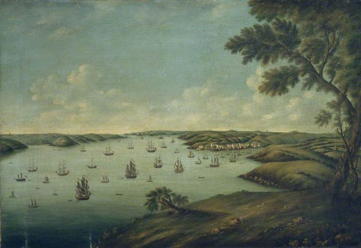 18th Century Milford Haven (Pembrokeshire, Wales)