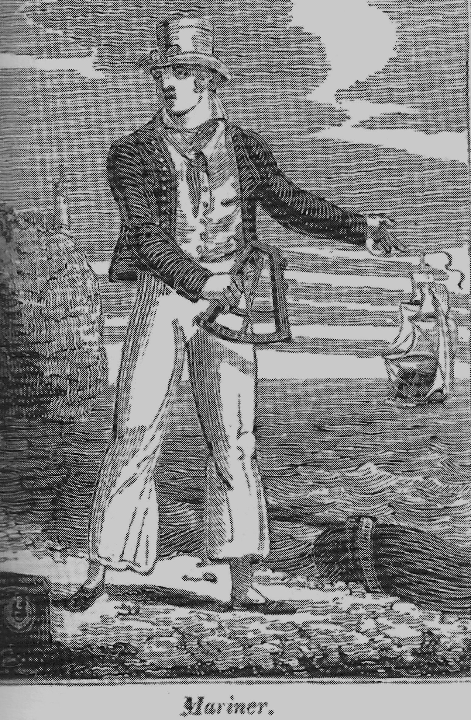 Great Great Great Grandfather William Wright's (1800-1861) occupation is listed as a Mariner (Milford Haven-Pembrokeshire)