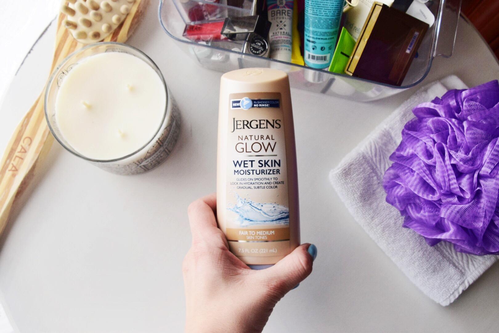 Jergens Natural Glow Wet Skin Moisturizer at Walmart 3.JPG