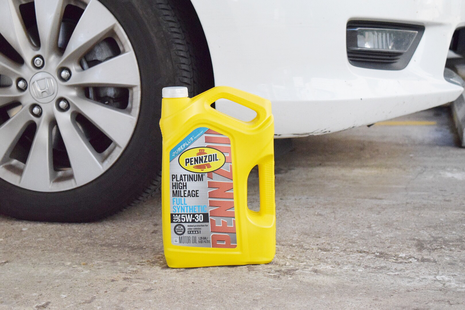 How to Change Your Oil - Houston Lifestyle Blogger (2).JPG