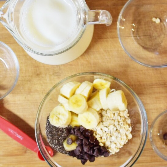 Chocolate Chip Banana Overnight Oats - Wander Dust Blog - Houston Lifestyle Blogger (5).JPG