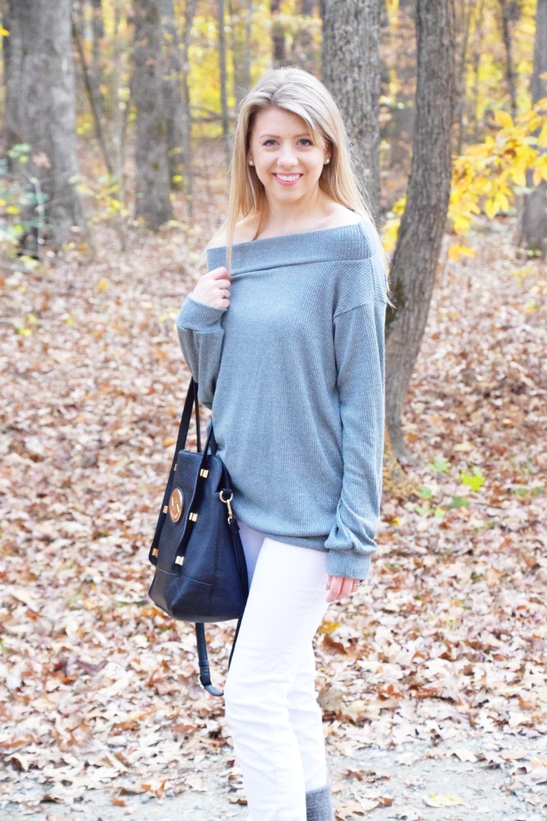 Off the Shoulder Look - Wander Dust Blog - Houston Lifestyle Blogger (7).JPG