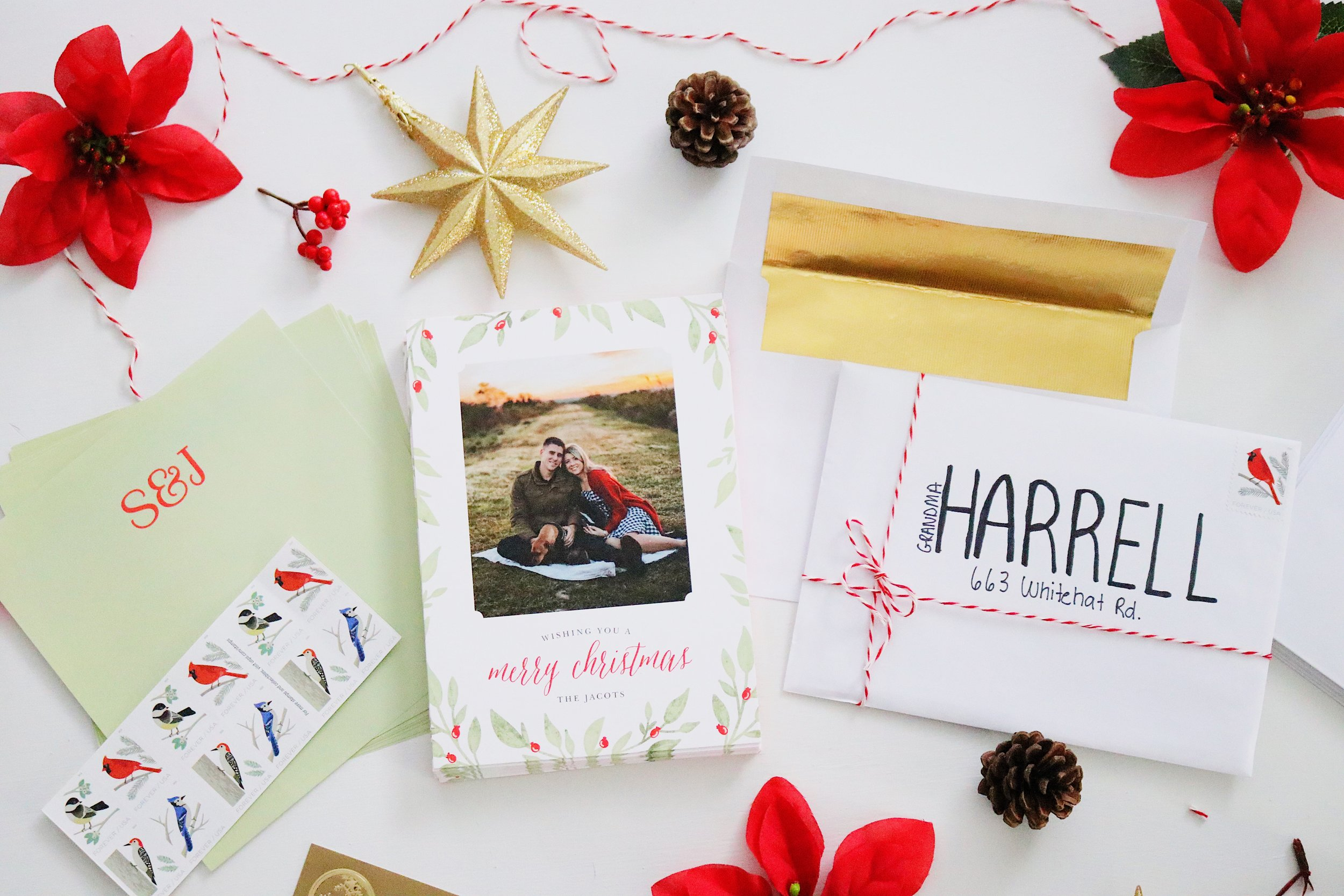 Wander Dust Blog - 4 Tips You Should Know Before Sending Holiday Cards - Basic Invite - Beautiful Christmas Cards (2).JPG